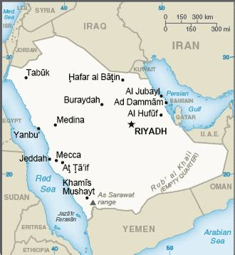 middle east saudi arabia  world factbook central