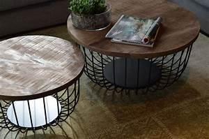 Couchtisch Set Rund : die besten 25 couchtisch metall ideen auf pinterest ~ Whattoseeinmadrid.com Haus und Dekorationen