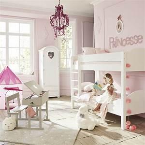 Lit Superposé Maison Du Monde : lit superpos 90x190 blanc pastel maisons du monde ~ Melissatoandfro.com Idées de Décoration