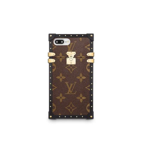 eye trunk  iphone   monogram small leather goods louis vuitton