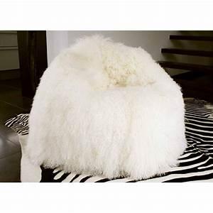 Pouf Fausse Fourrure : pouf xxl en peau de mouton hannibal sign angel des montagnes ~ Teatrodelosmanantiales.com Idées de Décoration