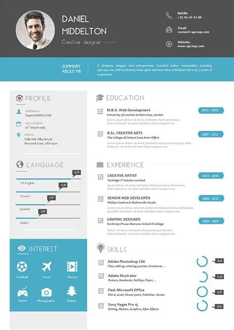 Nouveau Modèle De Cv by Cv Charg 233 De Client 232 Le Mod 232 Le Cv Sur Mesure Moderne Upcvup