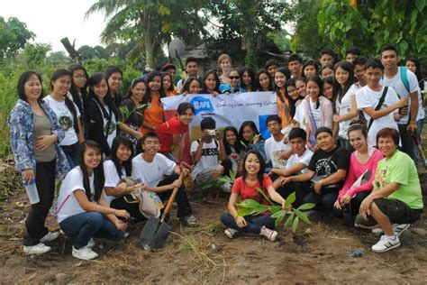 dantes  gscnhs   joins tree planting