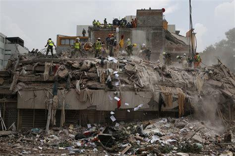 Mexico City Earthquake September 2017