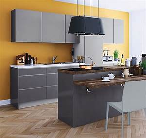 Plan De Travail Gris Anthracite : d licieux plan de travail cuisine gris anthracite 9 je ~ Dailycaller-alerts.com Idées de Décoration
