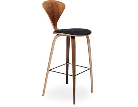 norman cherner office task cherner wood leg stool with upholstered seat hivemodern com