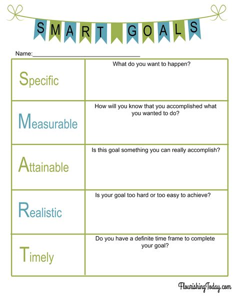 worksheets smart goal worksheet for students waytoohuman