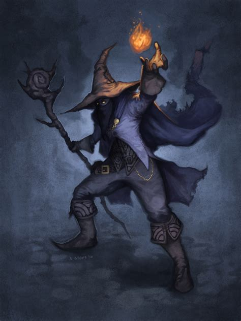 black mage by alexstoneart on deviantart