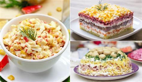 Receptes.lv - Iemīļotākie salāti svētku galdam