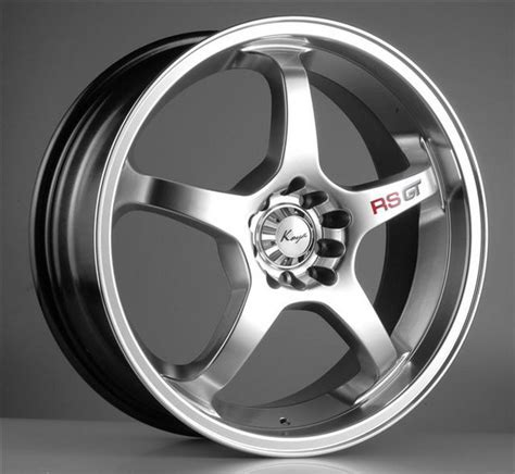 19inch Rs Gt Rims With Tyres, Cheap!