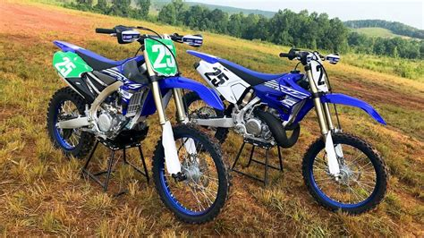 2 Stroke Vs 4 Stroke 2019 Yamaha Yz250x And Yz250fx