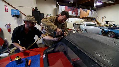 corvette soft top install wheeler dealers youtube