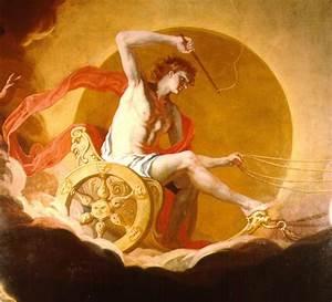Helios (by Hans Adam Weissenkircher) was the Titan god of ...