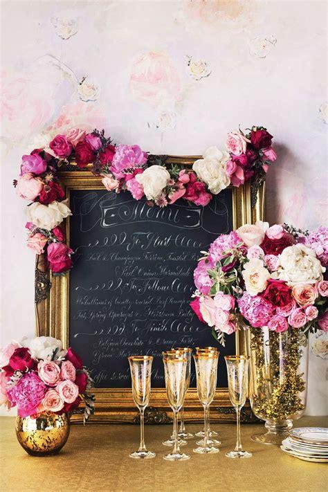 Pink Wedding Decorations Wedding Ideas By Colour CHWV
