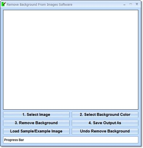 remove background  images software
