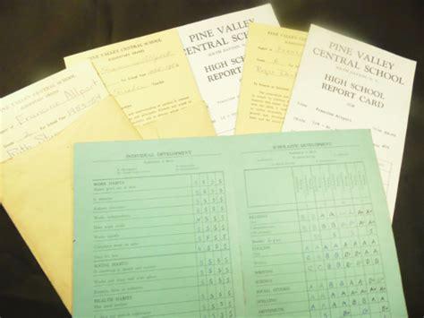 progress report card templates