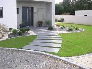 les 25 meilleures idees concernant amenagement paysager With idee amenagement jardin devant maison 6 entree de maison les idees damenagement pour un