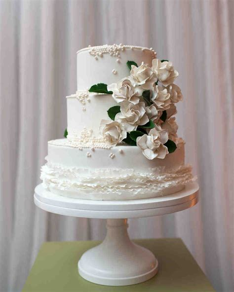 sugar flower wedding cakes martha stewart weddings