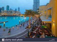 Dubai Mall Restaurants Fountain View