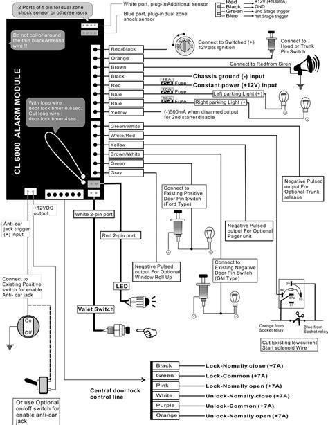 Car Alarm Wiring Diagrams Free Download Webtor