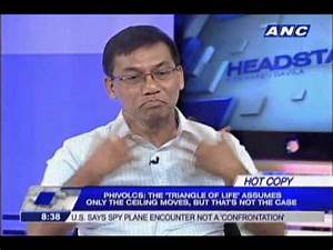 Phivolcs: 'Triangle of life theory' is a hoax - YouTube