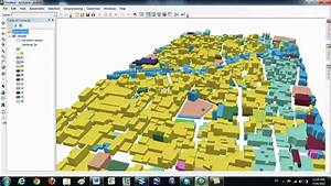 Making 3d File In Arcgis And Google Earth - Part 01