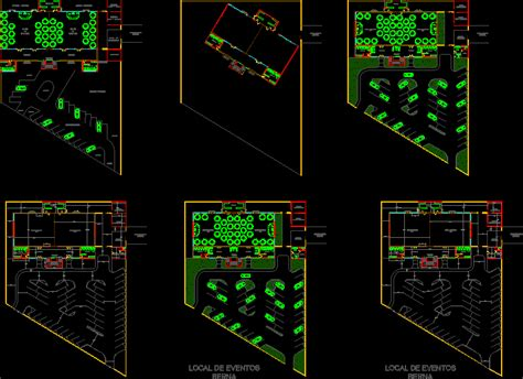 event  party space    autocad cad  kb