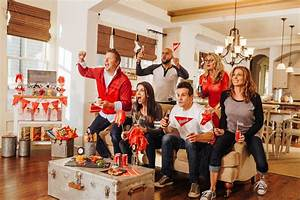 Revealing Our Spirited Home Bowl Football Party for Evite