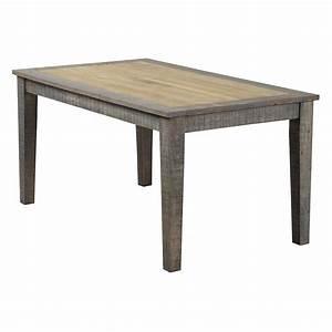 Esstisch Taarbek 160x90 Aus Massivholz In Beige Braun