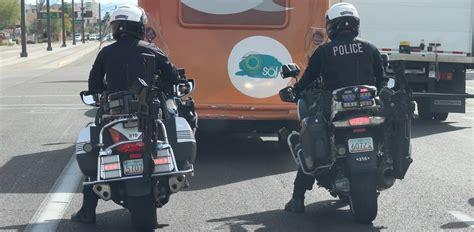 Arizona Police Mount Ar-15 Racks On Patrol Motorcycles