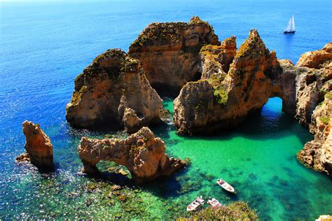 Algarve Coast Portugal Travel Inspiration