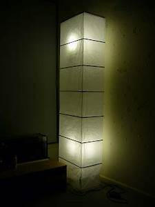 relocation sale With ikea rutbo floor lamp white