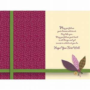 Farewell Wishes Personalised Card at Best Prices in India
