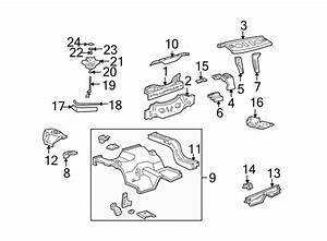 Ford Mustang Package Tray Extension  Coupe  Rear  Body  Floor