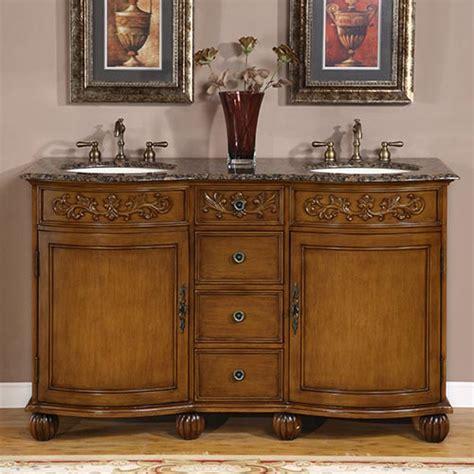 58 Inch Bathroom Vanity Cabinet 58 Inch Carnation Vanity Sink Chest Sink