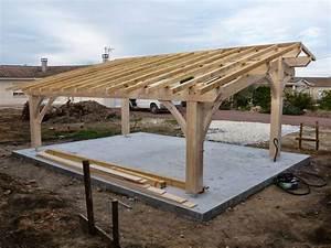 Construire Un Carport : construire un carport en bois soi meme ~ Premium-room.com Idées de Décoration