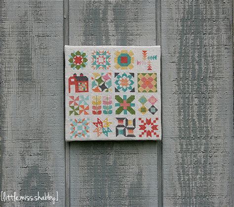classic quilt block sampler cross stitch favequiltscom