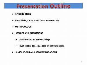 conclusion about early marriage essays