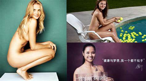 Think We Makes Gone Depth Woman Tennis Player Fakes Naked