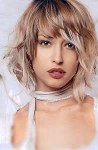 Coupe Carré Visage Rond : coupe de cheveux mi long 2017 visage rond ~ Melissatoandfro.com Idées de Décoration