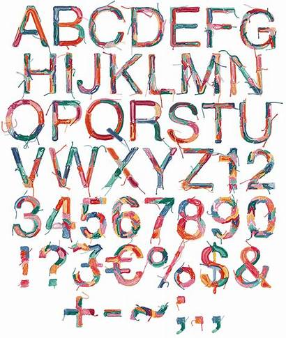 Font Fonts Creative Letters Sewing Handmadefont Alphabet
