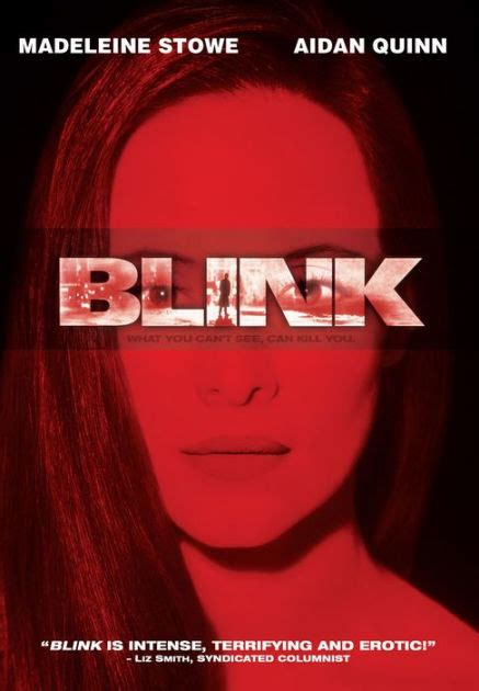 Blink Barnes And Noble by Blink By Michael Apted Madeleine Stowe Aidan Quinn