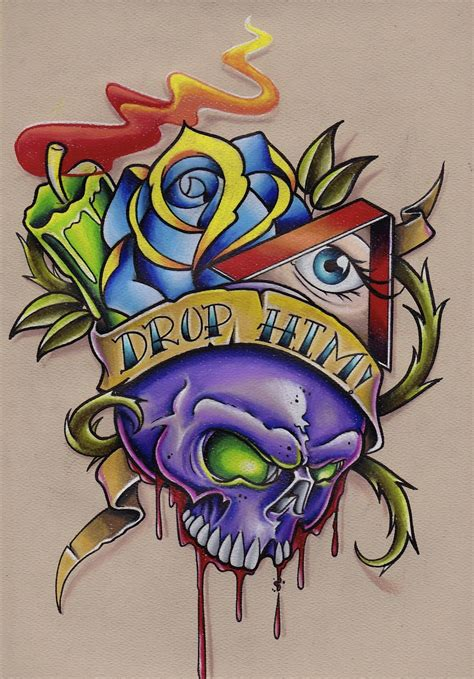 skull drawing prisma colored pencils part  youtube