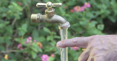 Magie Im Garten Wie Ein Fliegender Wasserhahn Funktioniert