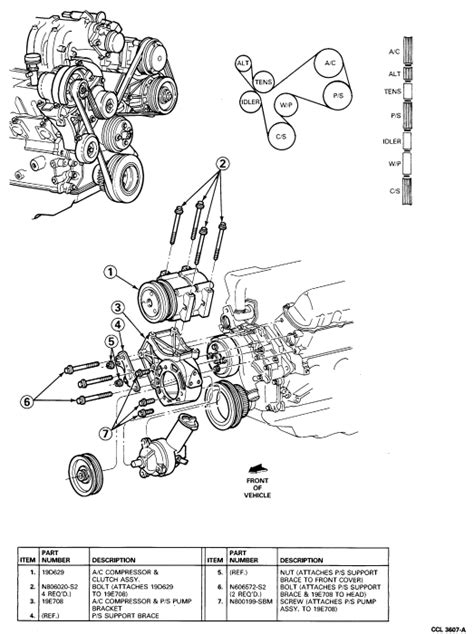 Ford 3 0 Liter Engine Diagram by I Am Changing A Water On A 1993 Ford Ranger 3 0 Liter
