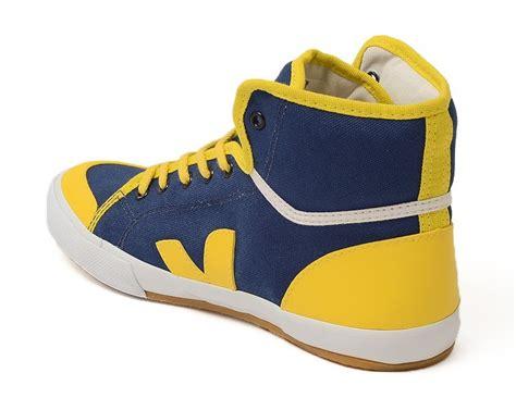 vegan kids sneaker veja spma junior true gold yellow