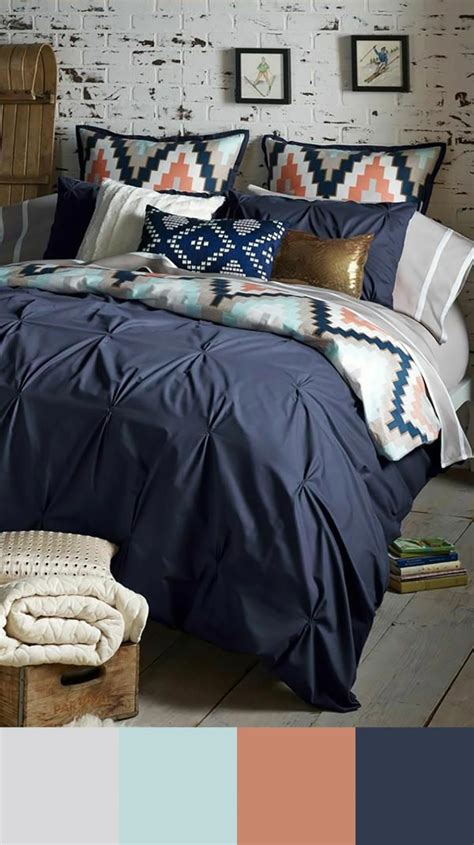 deco chambre bleu décoration chambre bleu marine