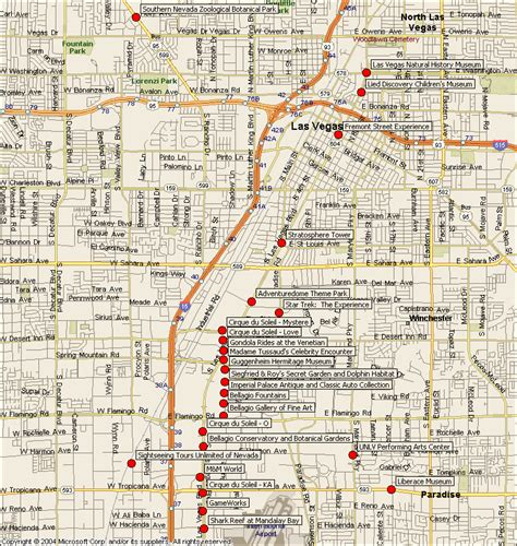metro map  las vegas city printable map  las vegas