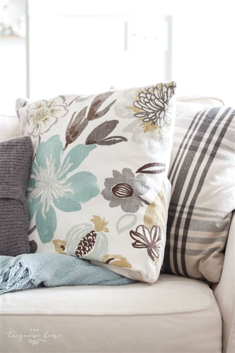 diy throw pillows easy diy throw pillow part 6 living room makeover the