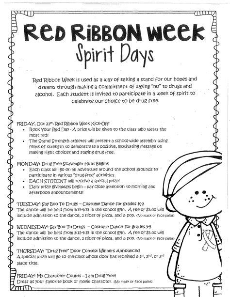 10 best red ribbon week ideas for middle school 2019